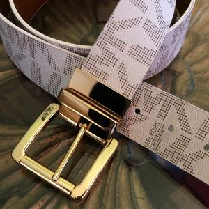 Leather Michael Kors Belt